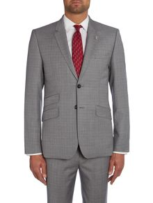 Modhus Slim Fit Textured Suit Jacket