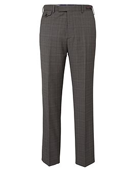 Men's Ted Baker Check Slim Fit Suit Trousers