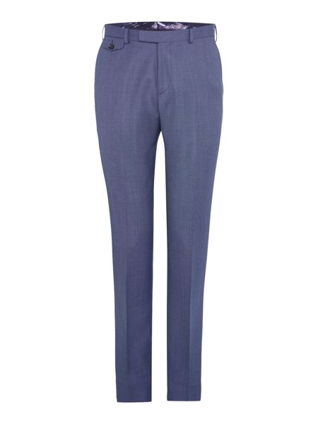 Ted Baker Pin Dot Slim Fit Suit Trousers