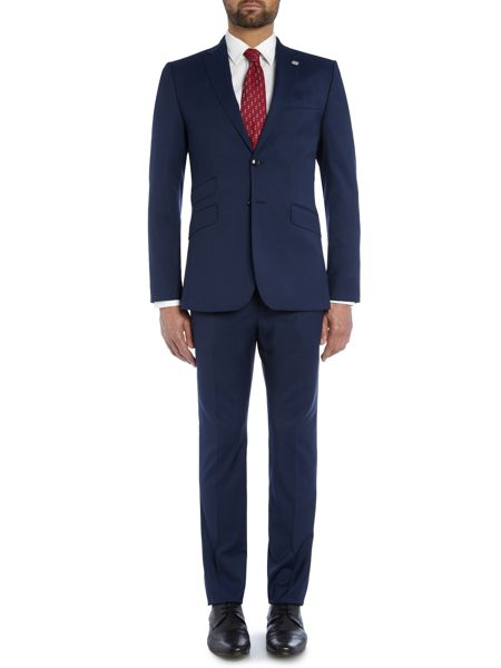 Ted Baker Plain Extra Slim Suit Trousers
