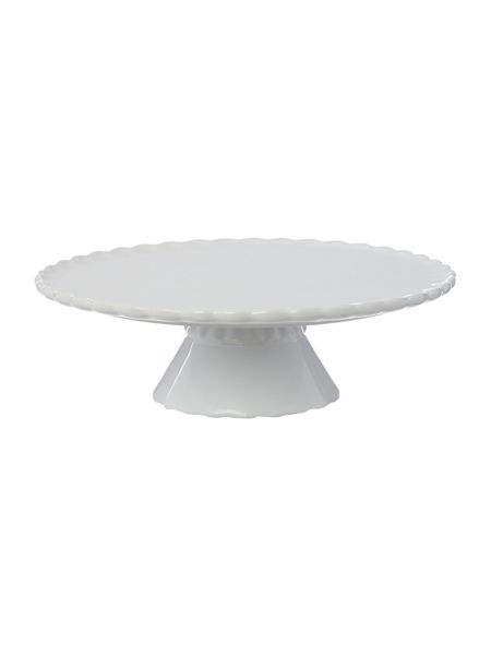Linea Ceramic footed cake stand