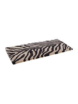 Zebra Stripe Bath Mat