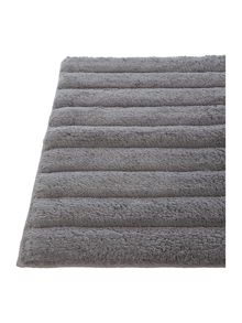 Gray & Willow Grey plush bath mat