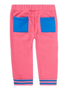 Girls All Star Logo Cropped Joggers