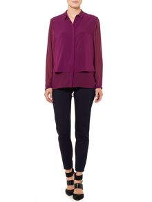 Pied a Terre Double layered shirt