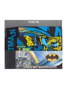 Boys 2 Pack Batman Boxers