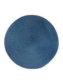 Blue oslo placemat set of 4