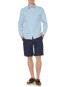 Howick Ellsworth Long Sleeve Gingham Shirt