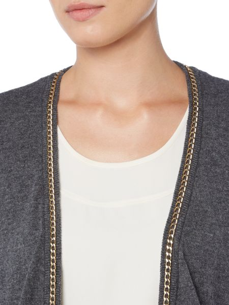 Linea Chain detail cardigan