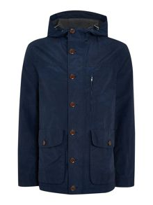 Criminal Ollie Showerproof Parka Coat