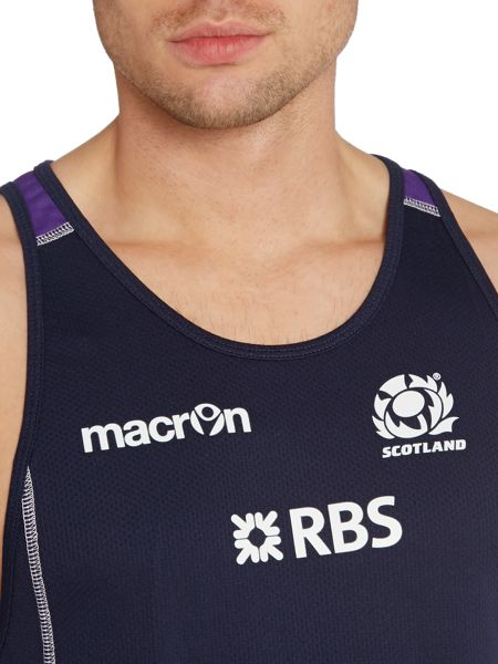 Scottish Rugby Logo Crew Neck Training Vest