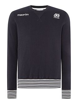Men's Scottish Rugby Plain Crew Neck Pull Over