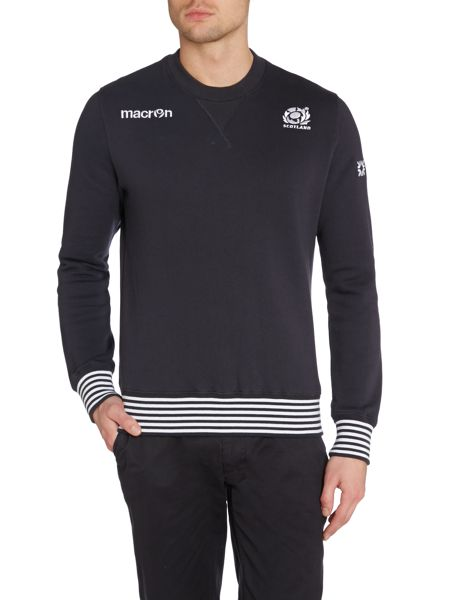 Scottish Rugby Plain Crew Neck Pull Over Jumper