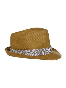 Synthetic Trilby Hat