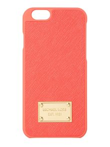 Pink saffiano Iphone 6 cover
