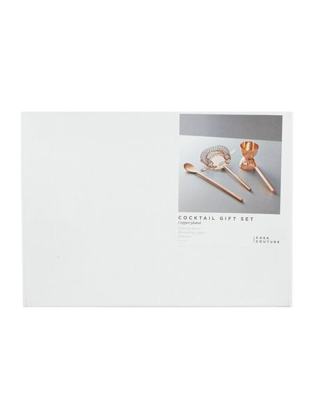 Casa Couture Copper  Cocktail Tool Gift Set