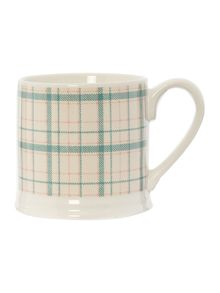 Wallis check mug