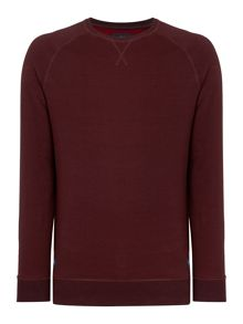 Criminal Jason Plaited Crew Neck Sweater