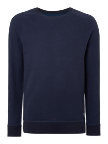 Jason Plaited Crew Neck Sweater
