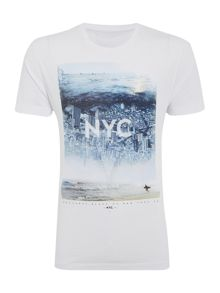 Nyc Photographic Print T-Shirt