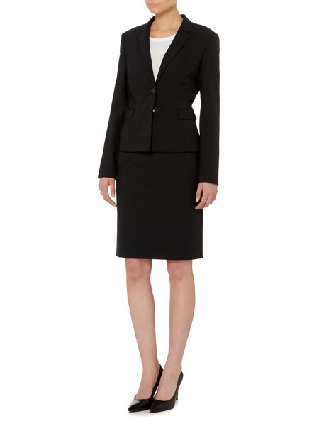 Hugo Boss Vilea Wool Stretch Pencil Skirt