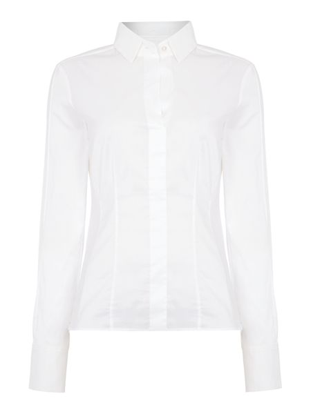 Hugo Boss Bashina6 Fitted Long Sleeve Shirt