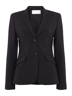 Julea Wool Stretch 2 Button Suit Jacket