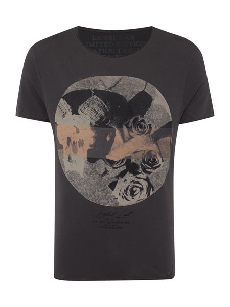 Label Lab Skulls & Roses Graphic T-Shirt