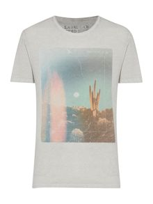 Desert Graphic Scoop Regular Fit T-Shirt