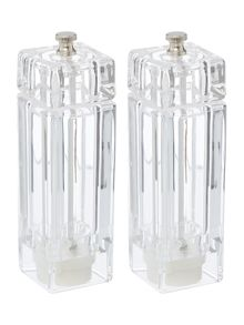 Acrylic salt and pepper set