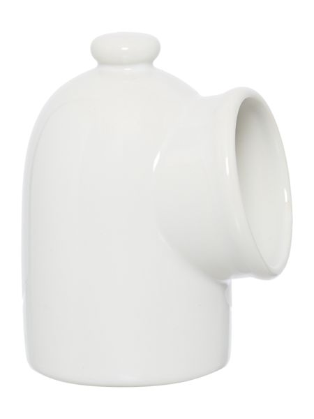 Linea Ceramic salt cellar