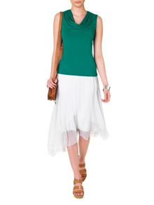 Phase Eight Domenica silk skirt