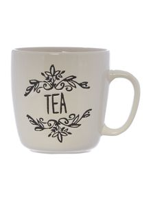 Linea Tea stamp mug