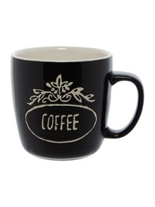 Linea Coffee stamp mug