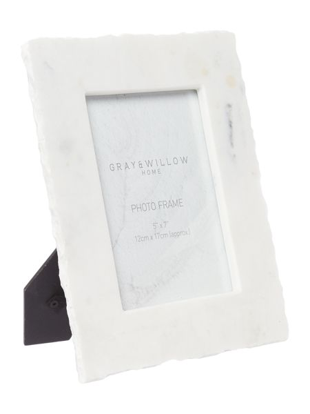 Gray & Willow Natural Marble Frame 5x7