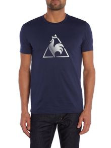 Le Coq Sportif Logo Crew Neck Regular Fit T-Shirt