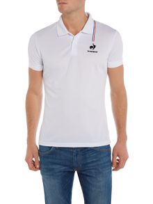 Logo Crew Neck Regular Fit Polo Shirt