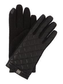 Quilted Logo Cube Touch Glove