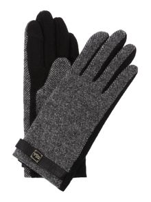 Contrast Logo Cube Touch Glove