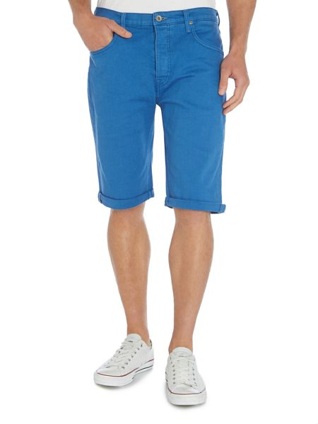 Lee Regular Fit 5 Pocket Denim Shorts