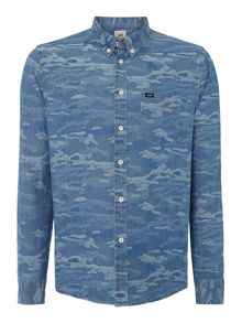 Lee Classic Fit Button Down Camo Shirt