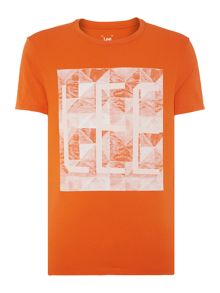 Lee Slim Fit Printed Logo T-Shirt