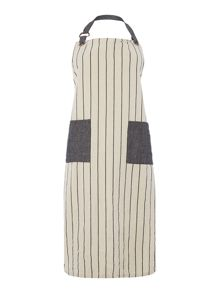Gray & Willow Pinstripe Apron