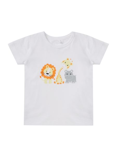name it Babys Animal Short Sleeved Tee