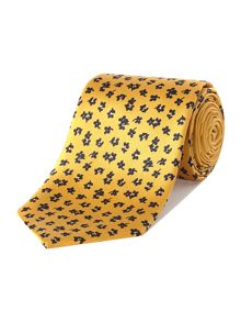 Howick Tailored Eastlake Printed Floral Silk Tie