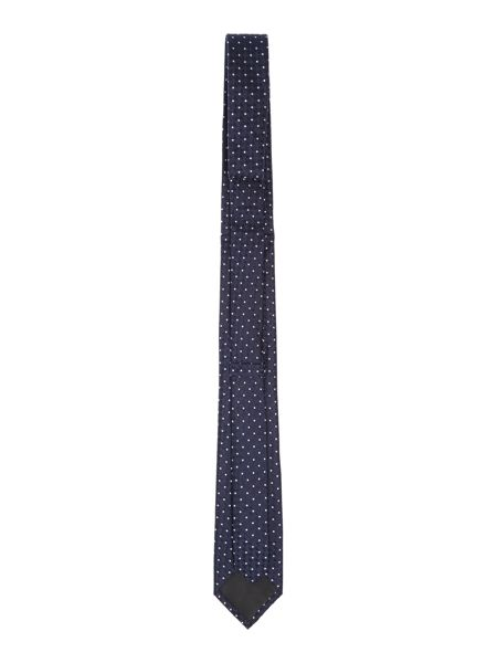 Kenneth Cole Ron Diamond Spot Textured Silk Tie