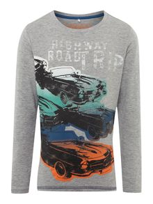 name it Boys road trip graphic tee