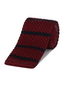 New & Lingwood Hurst Knitted Silk Tie