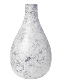 Gray & Willow Marble vase