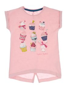 name it Girls yummu cupcakes tee